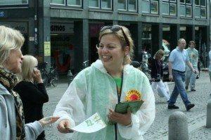 Katharina Schulze wirbt für den Atomausstieg (2009)