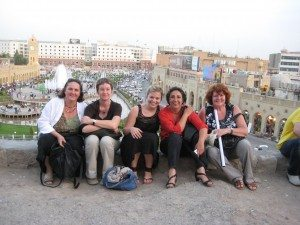 Theresa Schopper, Ulrike Gote, Katharina Schulze, Gülseren Demirel und Jutta Koller