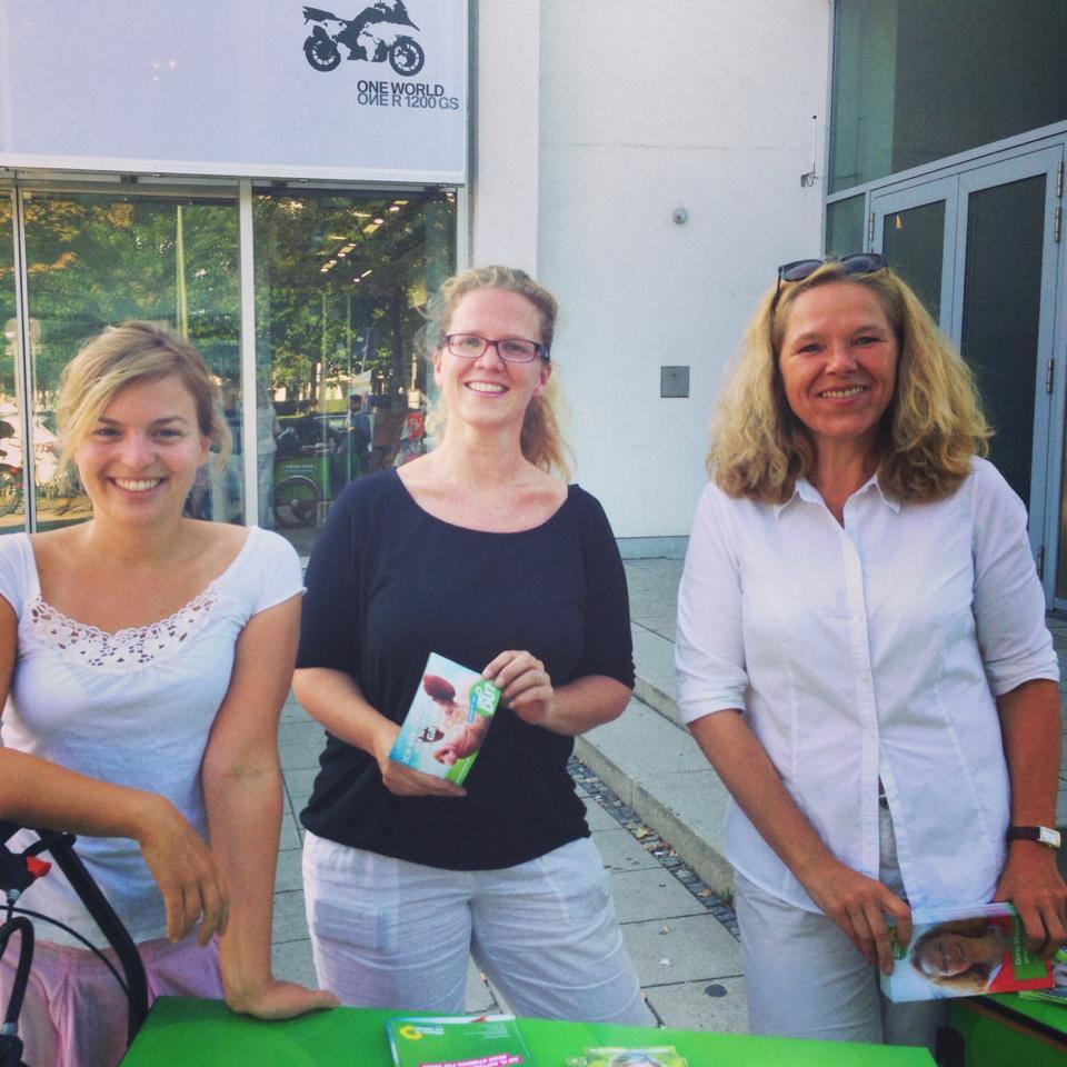 Glückliche Gesichter im Münchner Norden