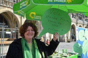 Jutta Koller am Weltfrauentag