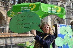 Sabine Nallinger am Weltfrauentag