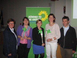 Glückliche Grüne bei der Veranstaltung zu TTIP in Unterhaching