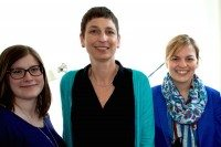 Sabine Pilsinger, Ursula Friessl-Späth, Katharina Schulze, MdL (v.l.n.r.)
