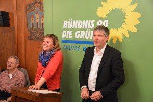 Moderiert von Katharina Schulze beantwortete Sven Giegold die zahlreichen Publikumsfragen