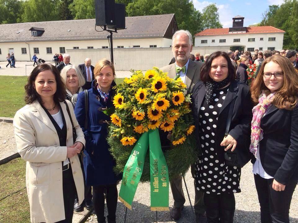 Grüne aus Bund und Land bei der Gedenkfeier