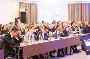 Interessiertes Publikum auf dem Münchner Cyber Dialog