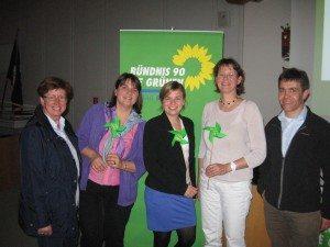 Katharina Schulze nach dem Vortrag zu TTIP mit den Unterhachinger Grünen