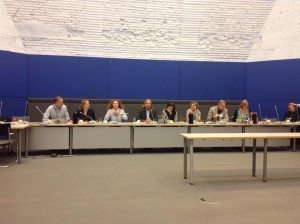 Zu Gast bei der grünen Fraktion im Bundestag