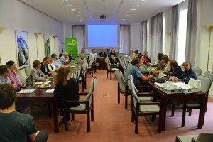 Besprechung mit grünen BürgermeisterInnen und Landräten im bayerischen Landtag | Katharina Schulze, MdL