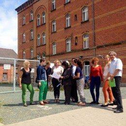 Besuch von Gemeinschaftsunterkunft für Flüchtlinge in Bayreuth verdeutlicht Handlungsbedarf