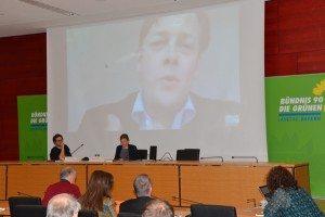 Konstantin von Motz berichtete über den NSA Untersuchungsausschuss