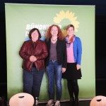 Landtagsabgeordnete Christine Kamm, Margarete Bause und Katharina Schulze