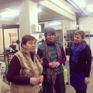 Anne Weiß vom Clean Projekt Neuhausen, Anna Hanusch und Katharina Schulze