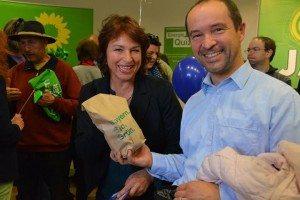 Als Mitbringsel gabs von uns Biokartoffeln - von unserer Abgeordneten Gisela Sengl