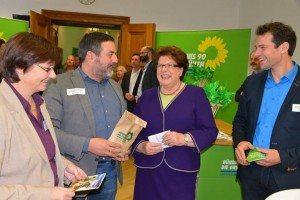 Barbara Stamm besucht die Grünen bei Tag der Offenen Tür