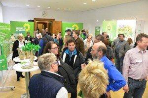 Grüner Saal beim Tag der Offenen Tür - volles Haus!