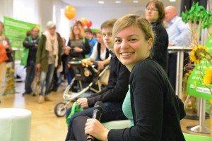 Katharina Schulze bei der Abgeordnetensprechstunde Tag der Offenen Tür im Bayerischen Landtag