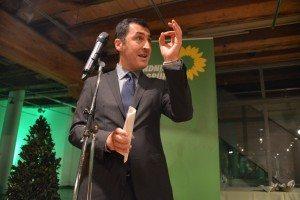 Cem Özdemir eröffnet der Grünen Abend