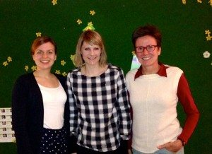 Drei starke Frauen: Katharina Schulze, Nicole Gohlke, Isabelle Zacharias