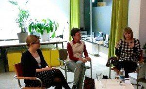 Drei Frauen, drei Standpunkte im Grünen Büro
