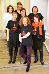 Alle weiblichen grünen Landtagsabgeordnete unterstützen One Billion Rising