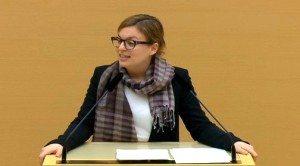 Katharina Schulze im Plenum zur Volksbefragung