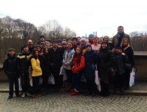 Ukrainische SchülerInnen zu Gast im Landtag