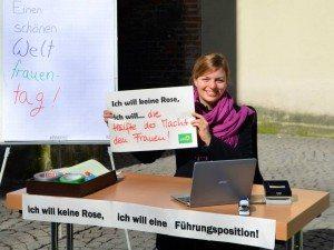 Katharina Schulze am Weltfrauentag 2015