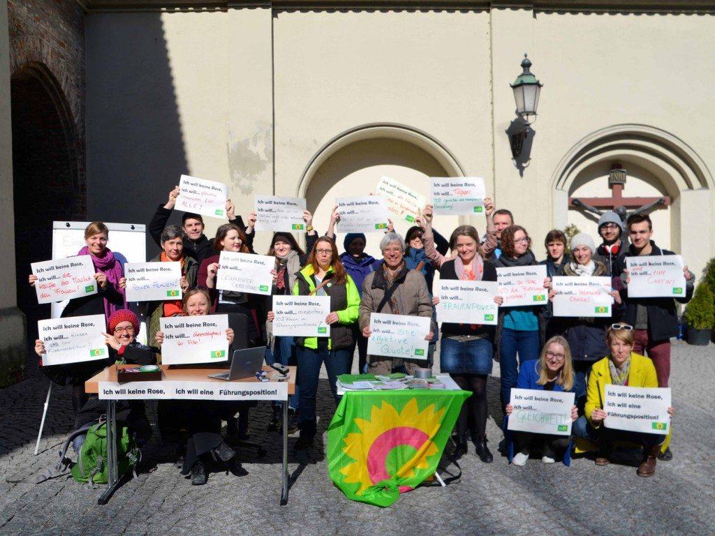 Starke Grüne Frauen am Weltfrauentag 2015
