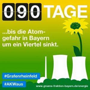 Noch 90 Tage bis das ALW Grafrheinfeld abgeschaltet wird!