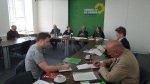 Grüne Pressekonferenz zu einer Reform des Umgangs mit Cannabis in Bayern