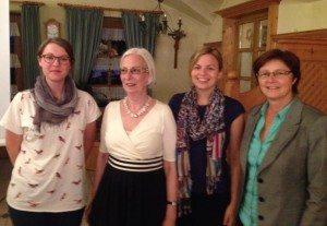 Mehr Frauen in die Politik: Petra Seifert, Katharina Schulze, Rosi Steinberger