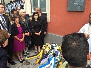 Gedenkveranstaltung für Theodoros Boulgarides im Westend