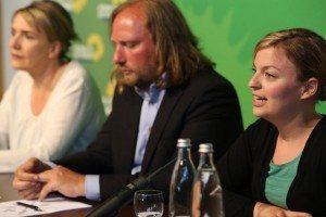 Grüne Pressekonferenz auf der Zugspitze: G7, demokratischer Protest und der Klimaschutz