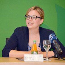 Gegen Vermummungsverbot: Katharina Schulze