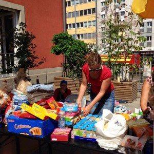 Geordnetes Chaos: Katharina Schulze hilft am Münchner Hauptbahnhof