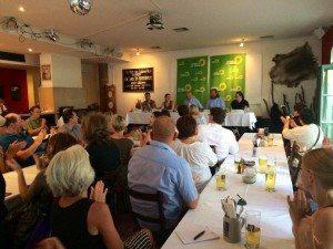 Volles Haus und spannende Diskussion in Regensburg