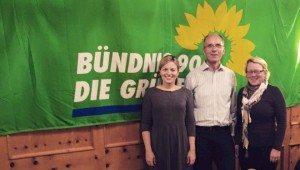 Katharina Schulze, MdL, den SprecherInnen der Grünen Cham