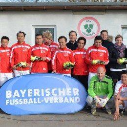 Fußball für und mit Flüchtlingen beim ESV Neuaubing