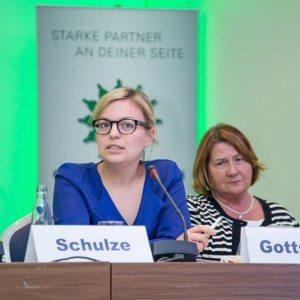 Katharina Schulze beim Polizeitag 2015