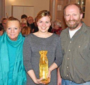 Christel Hausladen-Sambale, Katharina Schulze und Bernhard Spachmüller. Foto: Robert Schmitt
