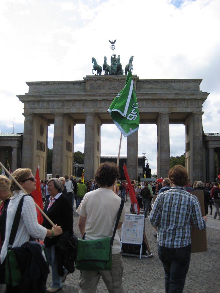 In Berlin auf der Großdemo gegen den Ausstieg vom Atomausstieg #energiewende