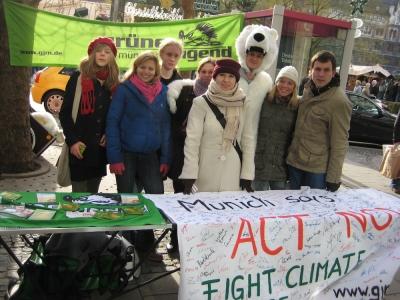 Grüne Jugend München: Fight Climate Change!