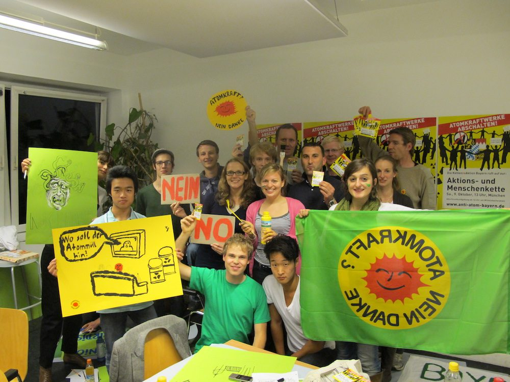 Nein zur Atomkraft!