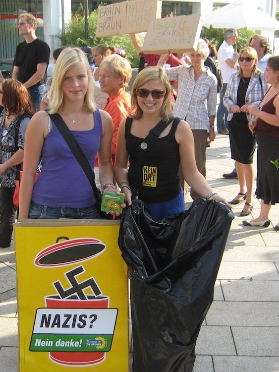 Grüne Jugend München: Nazis Nein Danke!