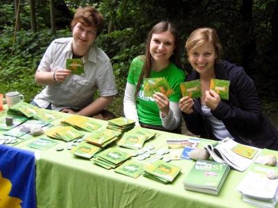 Grüne Jugend informiert über Europapolitik