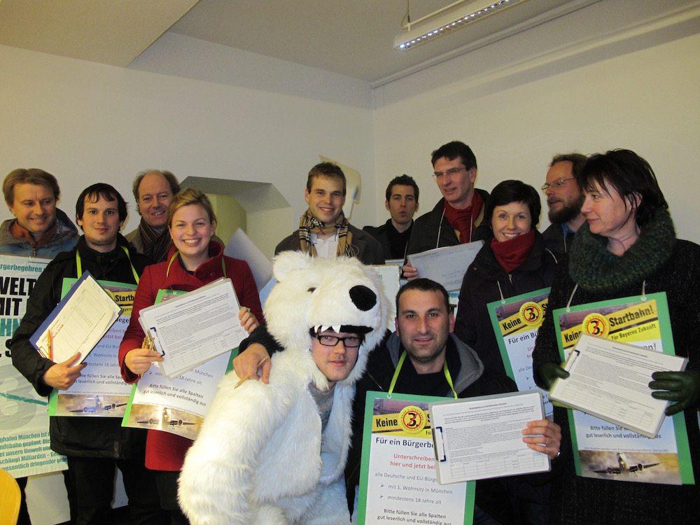 Raus auf die Straße: Unterschriften für den Bürgerentscheid sammeln!
