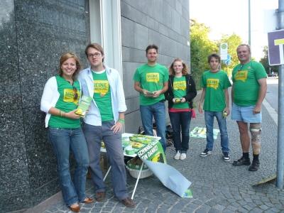 """Wahlkampf der Grünen Jugend München: """"Meine Kampagne"""""""