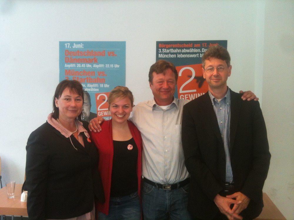 Zwei gewinnt Team: Helga Stieglmeier, Katharina Schulze; Christian Hirneis, Michael Piazolo