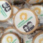 Viele Kekse gabs als Nervennahrung für die Polizei beim 1. Grünen Polizeikongress
